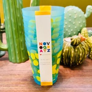 🍋 Novogratz Tumblers 16oz Set of 8